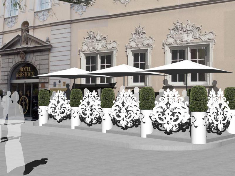 Hotel Würzburg Terrasse