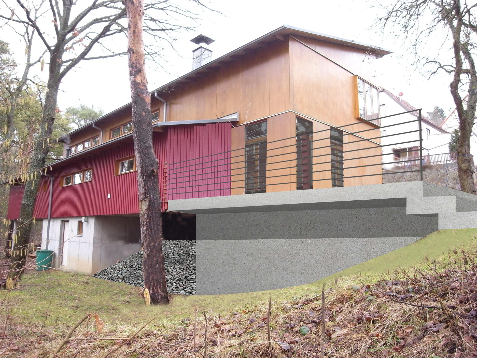 Architekt Würzburg einfamilienhaus neu würzburg andreas brüderle architekt