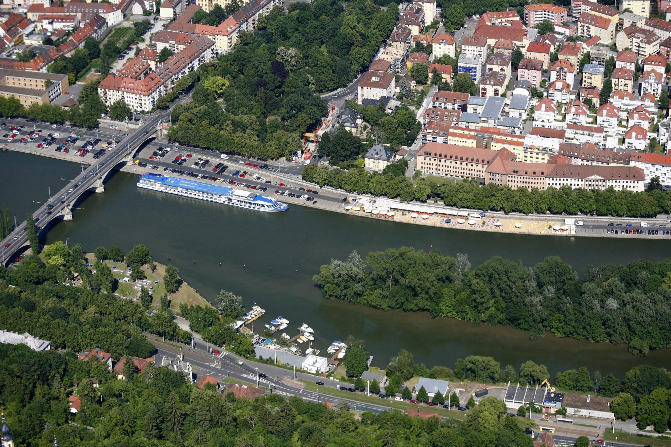 Stadtstrand Würzburg am Main Architekt