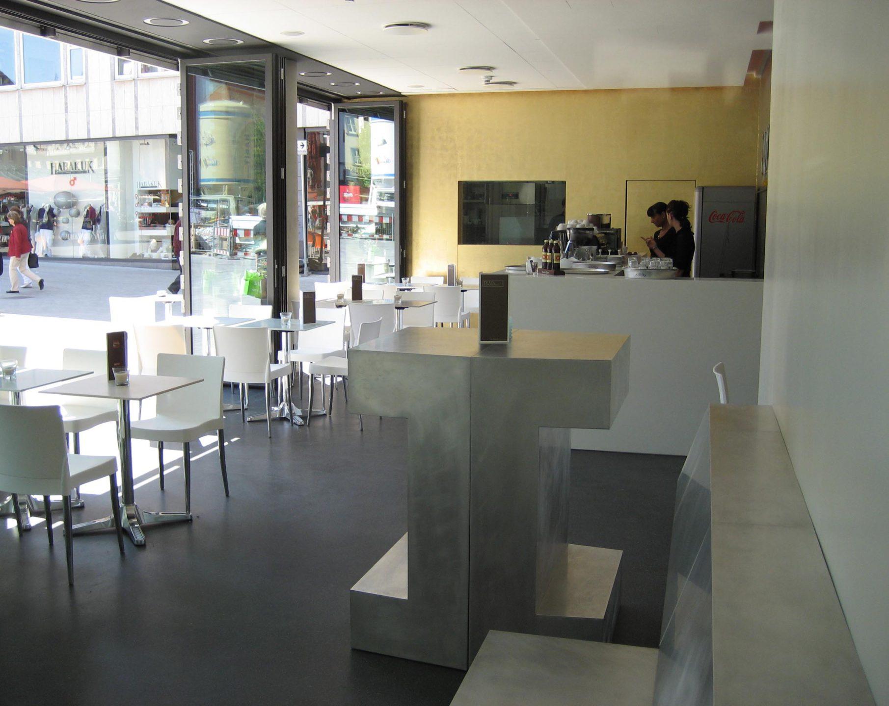 cafe bar w rzburg andreas br derle architekt. Black Bedroom Furniture Sets. Home Design Ideas